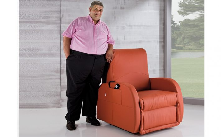 Poltrona Relax XXL extralarge per persone obese sovrappeso