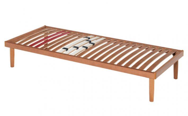 rete a doghe in legno fissa con cursori rigidità Suprema