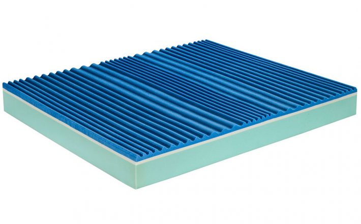 Materasso memory air gel ergonomico visco sense